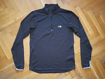 The North Face Flight Series Base Layer Lightweight 1/3 Zip Stretch Mens Size M