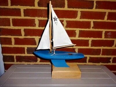 Vintage Birkenhead Star Yacht Pond Boat SY-1 Made in England