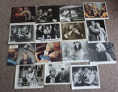 Hammer Horror FIFTEEN original stills Christopher Lee Cushing Dracula Amicus
