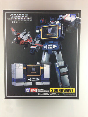 New Transformers Masterpiece MP-13 Soundwave in stock
