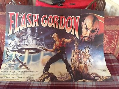 Flash Gordon Quad Poster