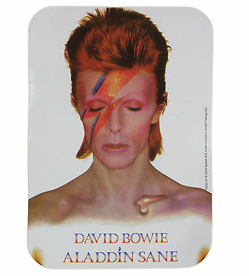 New Official David Bowie Vinyl Sticker (includes a free badge of your choice!)