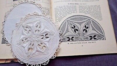 2 Unused HEDEBO Doilies for PINCUSHION, Indentical in 1913 GUSSY VON REDEN Book