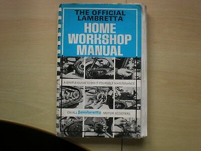 The Official  Lambretta Home Workshop Manual