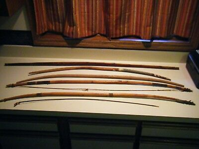 tribal african hunting bows