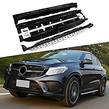 PEDANE CROMATE per  GLE Coupe   AMG 43 coupe C292 running board 4X4 Mercedes