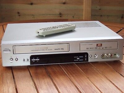 DAEWOO DVD VIDEO CASSETTE RECORDER Combo. DF 4501P. Good Cond. Remote. Working