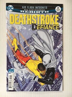 DC Comics: Deathstroke #24 (2017) - BN - Bagged and Boarded