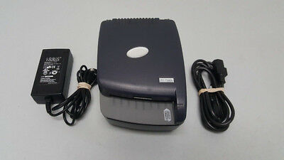 RDM EC7500i Check Scanner Model: EC7501f with power supply and adapter.