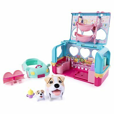 Chubby Puppies Camper Playset Toy