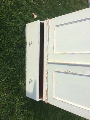 Victorian Deep Painted pine Wardrobe