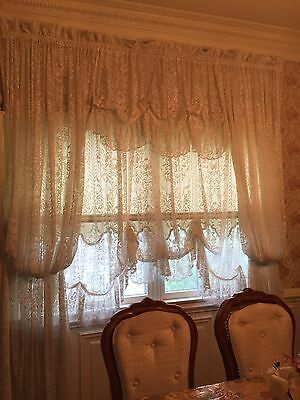 Victorian Lace Curtains - Beautiful