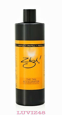 ZHUZH TAN ACCELERATOR REFILL 500 ml -1ST CLASS FAST POST/NEW STOCK/AUTHENTIC