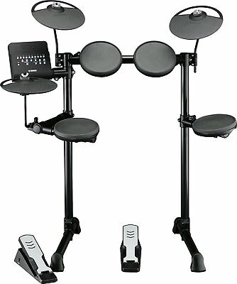 Yamaha DTX400K Black acoustic drum - acoustic drums (Black, Electronic)