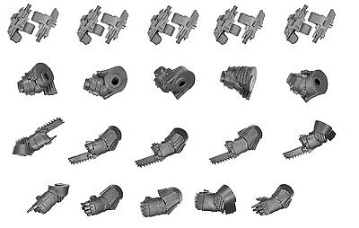 Games Workshop Bits - Betrayal of Calth Space Terminator Arms and Combi Bolters