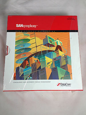 Sansymphony Version 5.2 Networking Edition DataCore Software Brand   New!