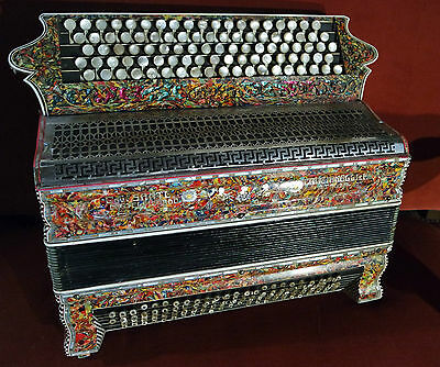 Rare Accordeon Sante Crucianelli & F. Italia Accordion Fisarmonica