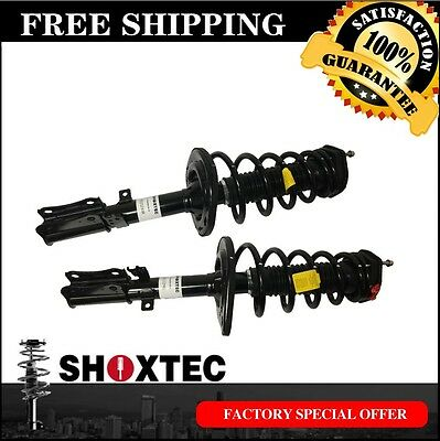 Rear Pair Complete Strut Assembly W/COIL SPRING for 2007-2011 TOYOTA CAMRY
