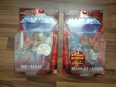 Masters of the Universe MOTU OVP He-Man und Man-At-Arms
