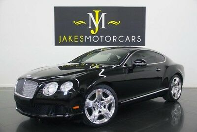 2012 Bentley Continental GT GT Coupe 2-Door 2012 CONTINENTAL GT W12, $210K MSRP, BLACK/ BLACK, BLACK PIANO WOOD, 19K MILES