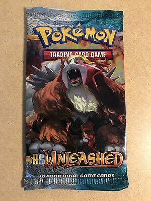 Pokemon Booster Packs 'hs Unleashed'  Brand New Factory Sealed Rare 2010