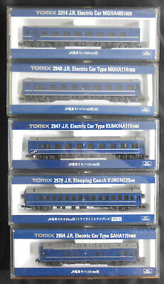 Lot 5 Tomix N Gauge 2954 /2579/2947/2948/2314 5 cars SAHA/SURONE/KUMOHA/MOHA