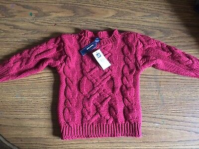 Hand Knit Baby Gap Sweater size 12-18 month