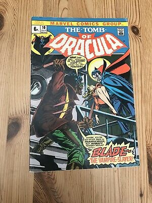 The tomb of Dracula comic. With Appearance of Blade