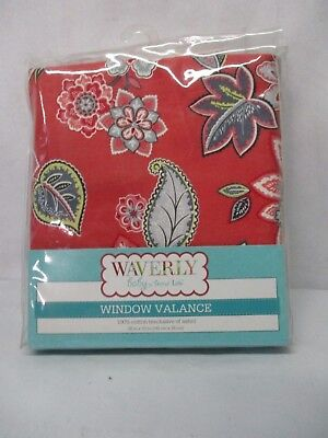 ~NEW~ Waverly baby by Trend Lab Set of 2 Charismatic Window Valance