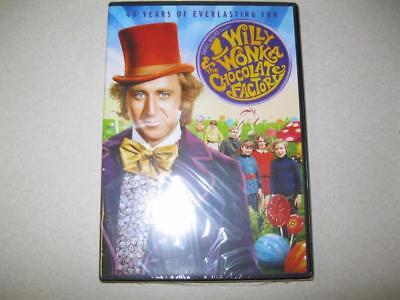 Willy Wonka and the Chocolate Factory DVD Factory Sealed