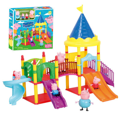Peppa Pig Family&Friends Figure Car Slide with Figures 2017 Toys Kids Gift NEW