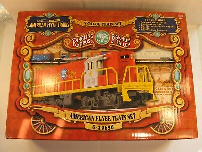 "AMERICAN FLYER 49626 ""RINGLING BROS"" CIRCUS SET ""NEW in the BOX"