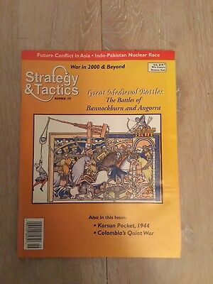 Stradegy & Tactics 197 Great Medieval Battles - S&T - unpunched