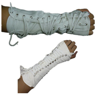 Michael Jackson Armbrace History White Lace Up Glove MJ Dangerous Arm Brace