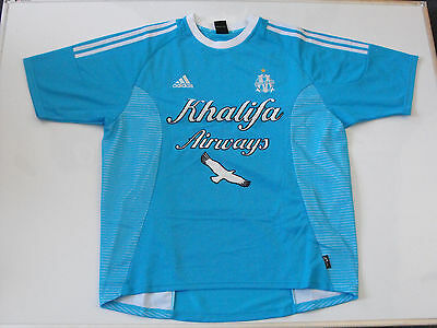 Olympique De Marseille Football Shirt 2002-2003