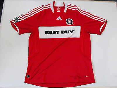 Chicago Fire Home Football Shirt 2008-2009