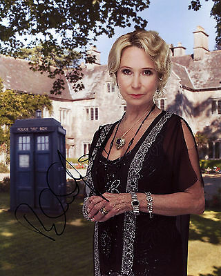 Felicity Kendal - Lady Eddison - Doctor Who - Signed Autograph REPRINT