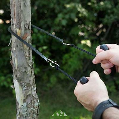 Camping Hiking Emergency Survival Hand Tool Gear Pocket Chain Saw FAST CUTTING