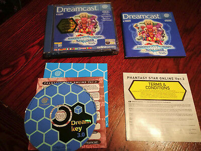 Dreamcast Phantasy Star Online Episode 1&2 Box & Manual only