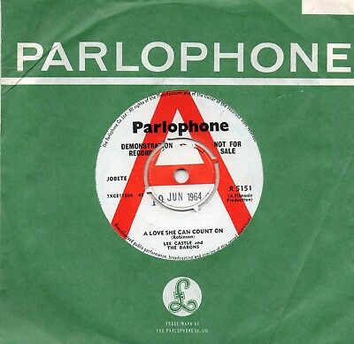 Lee Castle And The Barons-A Love She Can Count On-Parlophone-***demo***