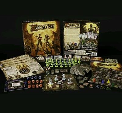Zpocalypse Post Apocalyptic Zombie Survival 1-4 Player von greenbrier games