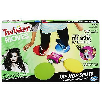 NEW Twister Moves Hip Hop Spots Electronic Dance Lights Flash Challenge Game