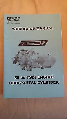 Peugeot Scooter 50cc TSDI Engine Workshop Manual