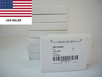 *Ships Today* 2017 & 2016 Allen Bradley 1734-OB8  Output Module New
