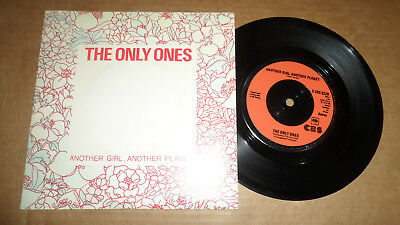 The Only Ones 'another Girl, Another Planet' S Cbs 6228 Cbs Recs 1978 Uk Issue