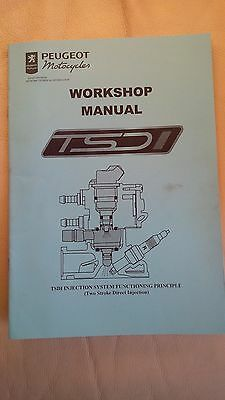 Peugeot Scooter TSDI Workshop Manual