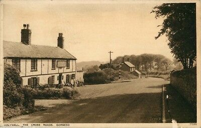 Flintshire Holywell The Cross Roads Gorsedd