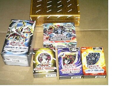 Great group of Sealed Yu-Gi-Oh TCG Product!