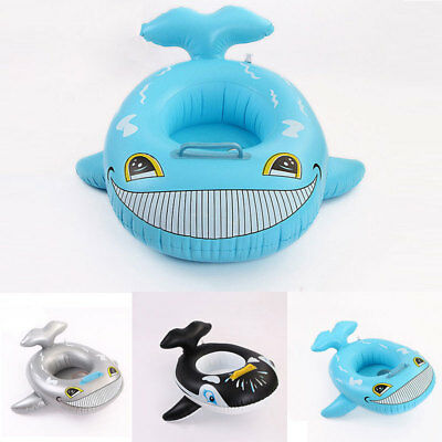 Cartoon Kids Baby Seat Swimming Ring Pool Aid Trainer Beach Float Inflatable