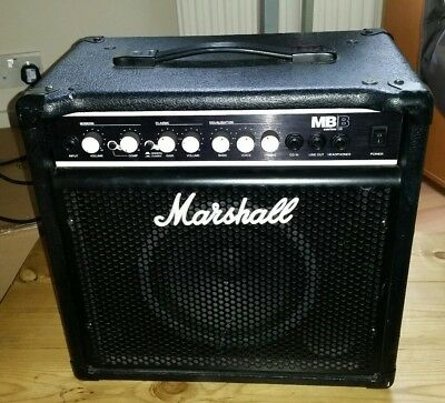 marshall 200 watt bass combo model 72115 good full working condition picclick uk. Black Bedroom Furniture Sets. Home Design Ideas